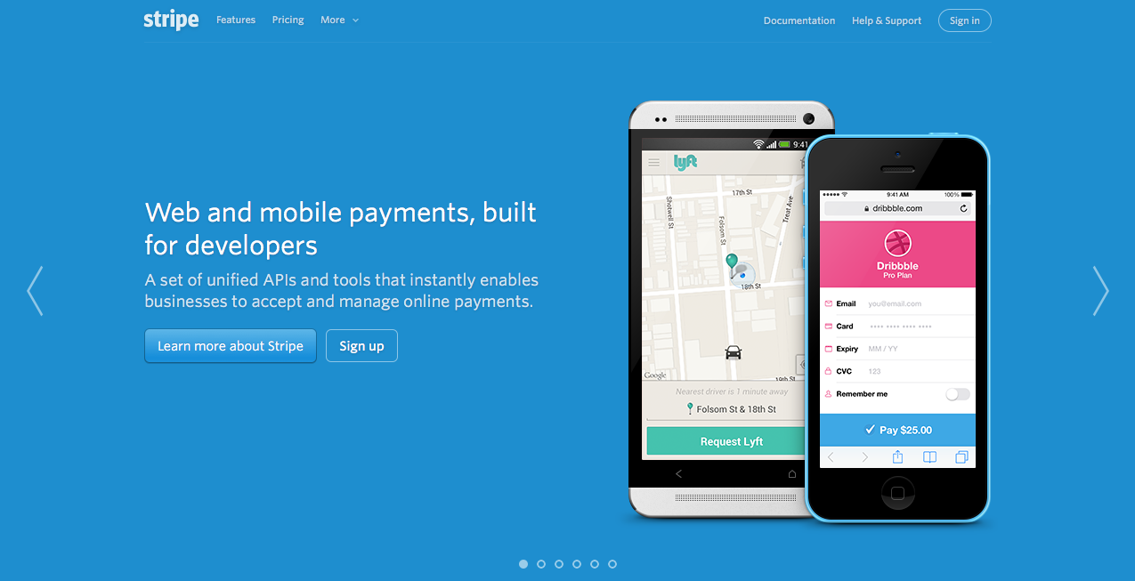 Stripe Payment Processing Website Design Development Identity Division Co