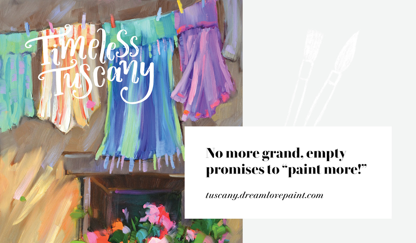 Timeless Tuscany Italy Dreama Tolle Perry Design Course Website Online Learning Painting Identity Division Lis Dingjan
