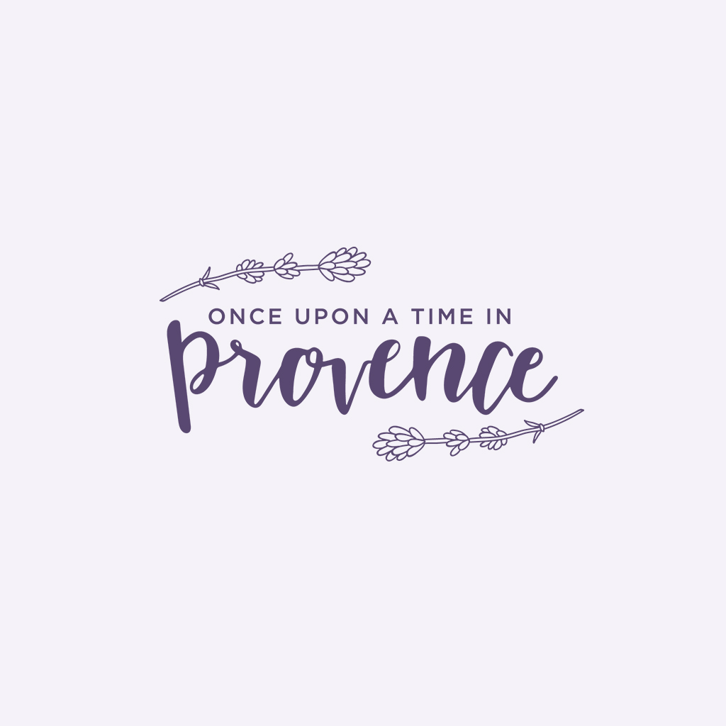 Once Upon a Time in Provence Logo Design