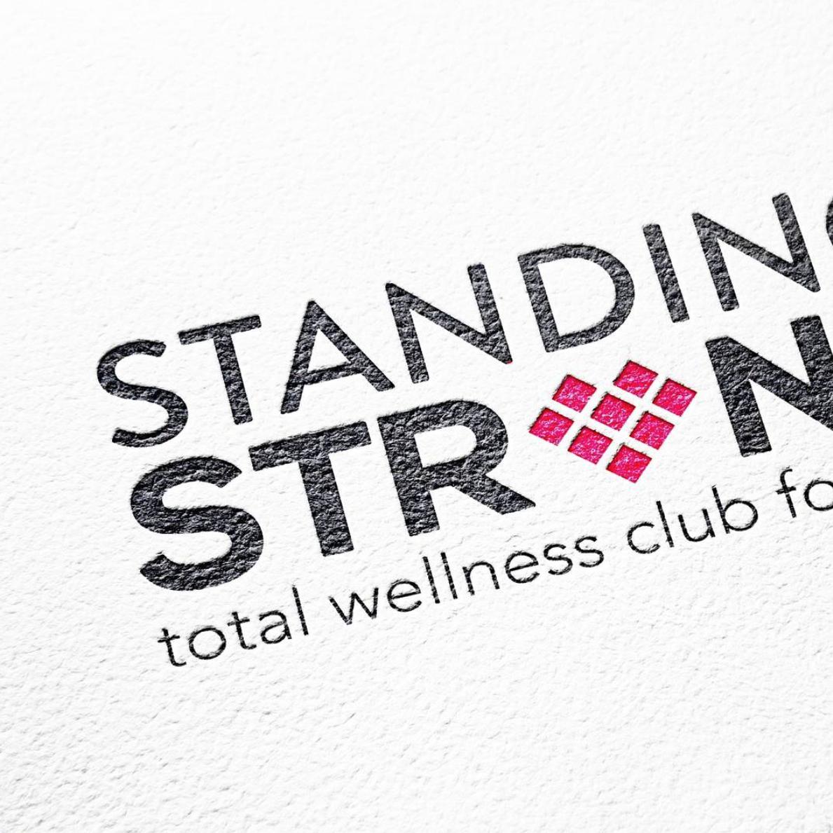 Girls Standing Strong Clubs Logo - Australia - Kim Smith